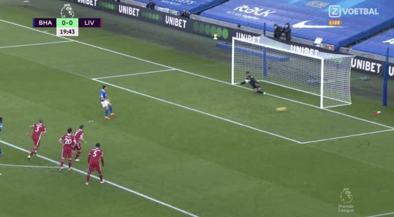 (Video) Brighton hit horrendously bad penalty to save Neco Williams' blushes