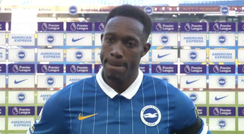 (Video) Welbeck admits it's a soft penalty, but says with VAR you have to ask…