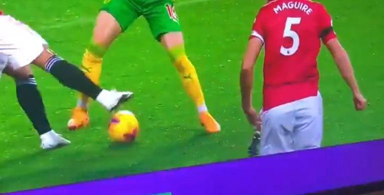 (Video) David Coote involved in controversy again as he denies WBA stonewall penalty v. Man Utd