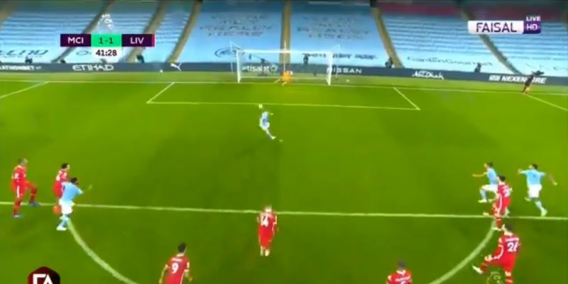 (Videos) De Bruyne misses the goal after City gifted dodgy penalty by VAR v. Liverpool