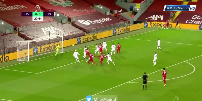 (Video) Liverpool take the lead at Anfield as former Man Utd man fires loose ball into own goal