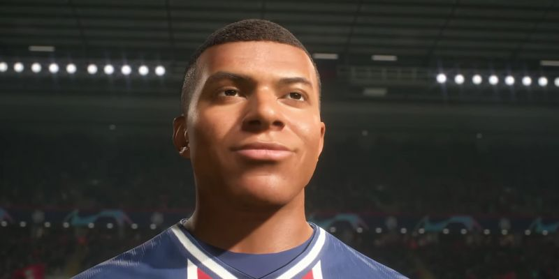 (Video) Reported LFC target Kylian Mbappe smiles at fan-filled Anfield in new FIFA ad