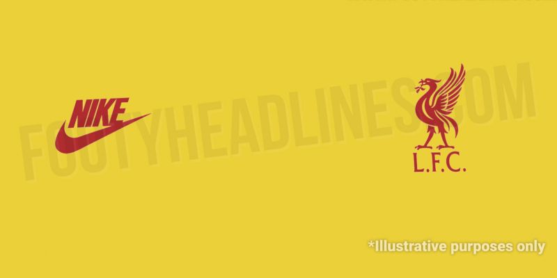 (Images) Details of yellow LFC Nike kit for 21/22 have leaked – all three shirts have now revealed