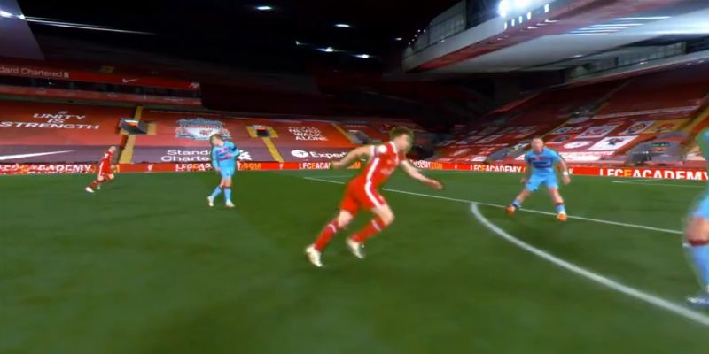 (Video) You have to see this new angle of Shaqiri's armour-piercing assist for Jota winner