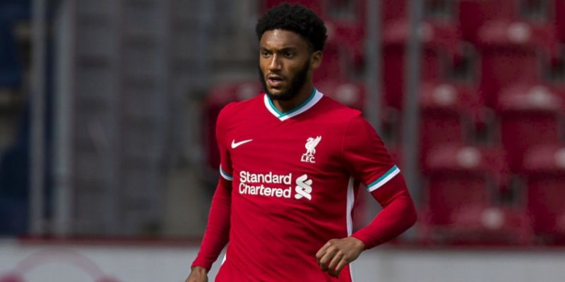 Joe Gomez looks likely to miss season, the Euros and start of 2021/22 if patella tendon has been injured