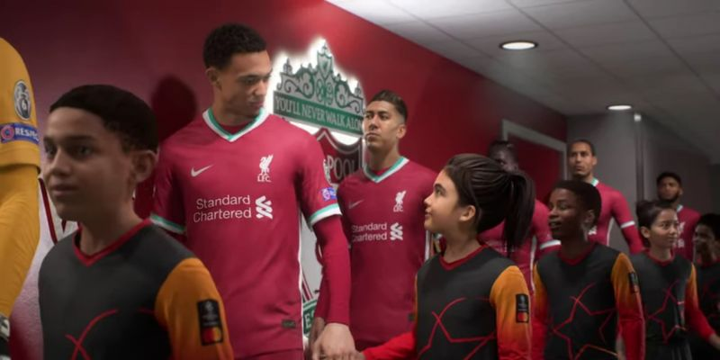 (Video) Liverpool the focus in new FIFA 21 trailer for next gen; fan-filled Anfield looks glorious in 4K