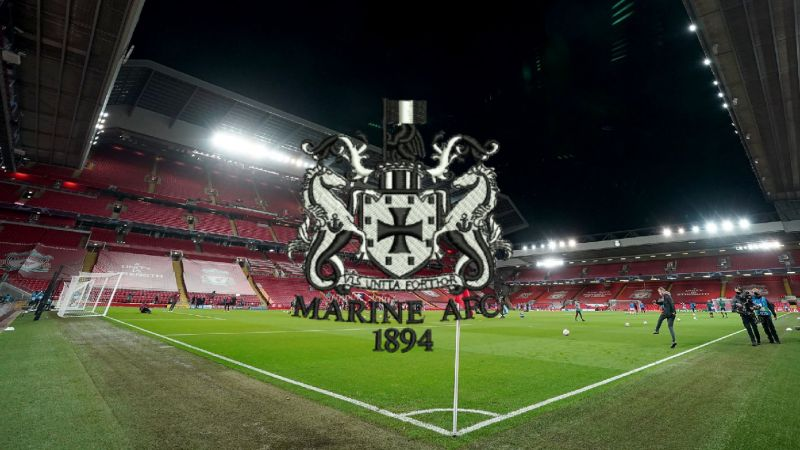Marine could be forced to play FA Cup clash with Spurs at Anfield – report