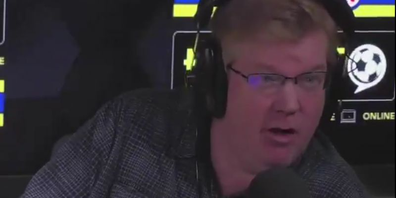 (Video) Radio host makes pathetic argument that Liverpool are the 'luckiest' team in history