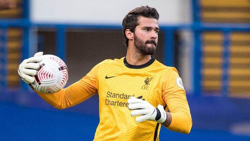 Alisson set to miss Brighton clash with 'illness'