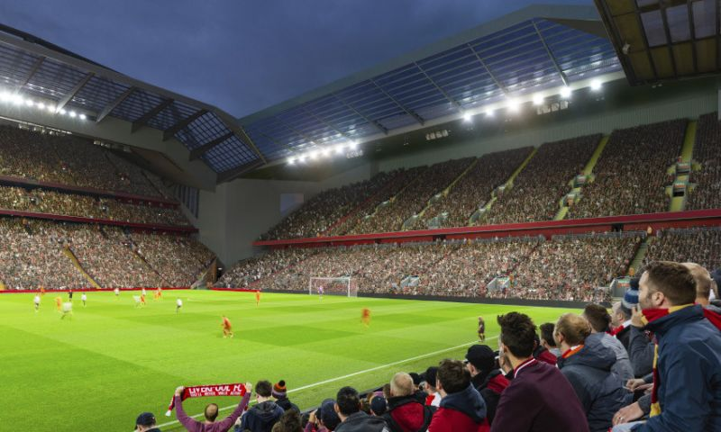 (Photos) Anfield expansion plans show off ambitious project