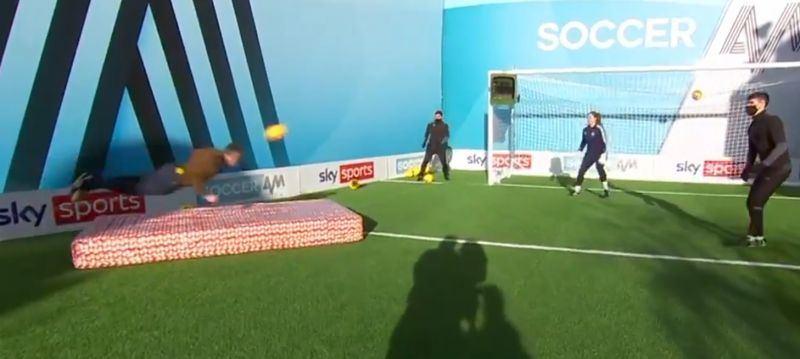 (Video) Jamie Carragher busts a gut in chaotic You Know the Drill run