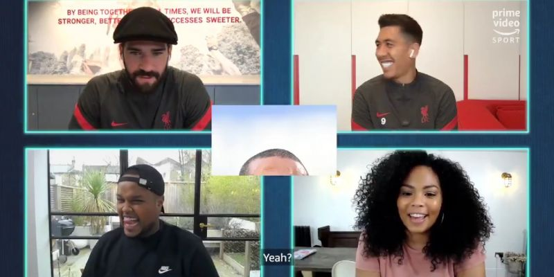 (Video) Chunkz loses it as Alisson guesses Thiago by cropped photo of his hairline