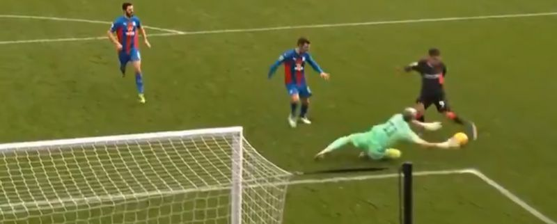 (Video) Stunning Mo Salah assist slices through Palace defence before Firmino dinks LFC fifth