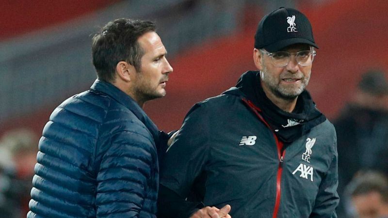 Lampard ridicules Klopp's title claim with post-match snipe