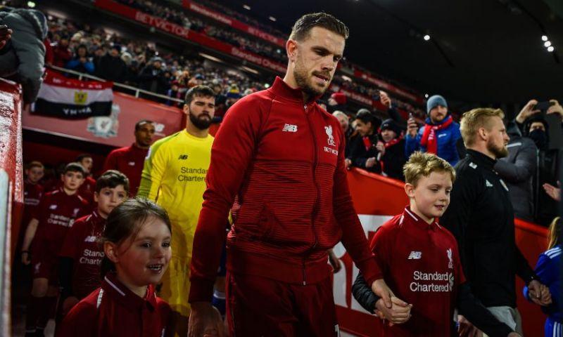 Jordan Henderson hails the fans as Liverpool prepare for West Brom visit