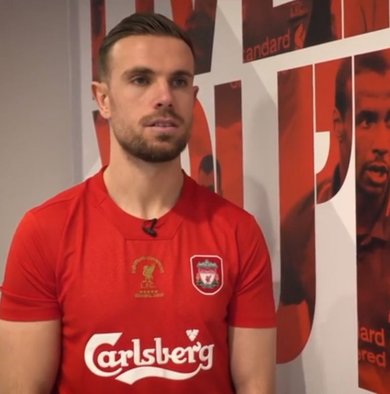 (Video) Henderson hails Anfield effect in spine-tingling clip