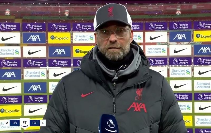 (Video) Klopp bemused after Mourinho tantrum in post-match interview