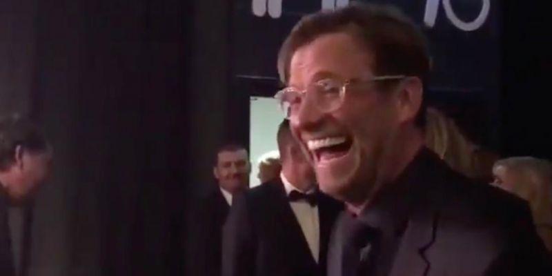 Jurgen Klopp drops hilarious one-liner about Manchester as Liverpool claim award