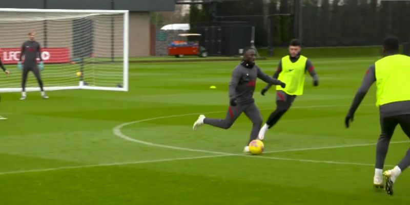 (Video) Naby Keita shines in all-action five-a-side in Liverpool training
