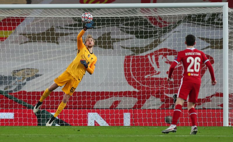 Pundit claims Kelleher above Adrian in the pecking order after 'commanding' Ajax performance