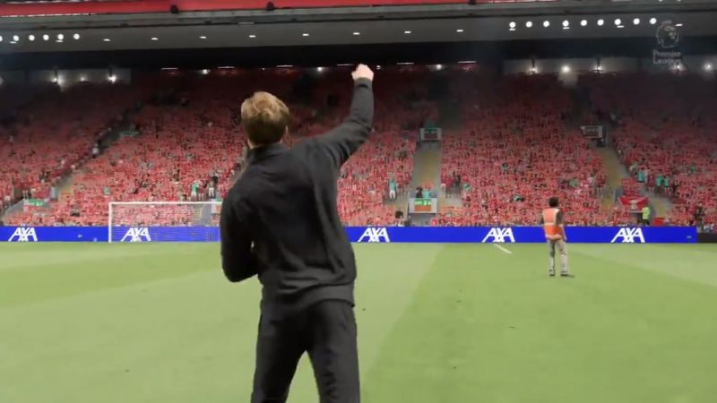 (Video) Next-gen FIFA 21 with spookily life-like Klopp celebration