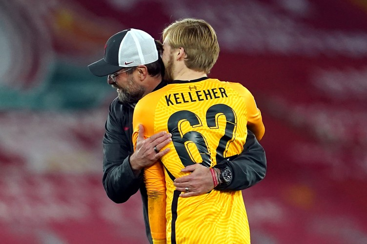 Klopp hints footballing ability is why Kelleher got the nod over Adrian