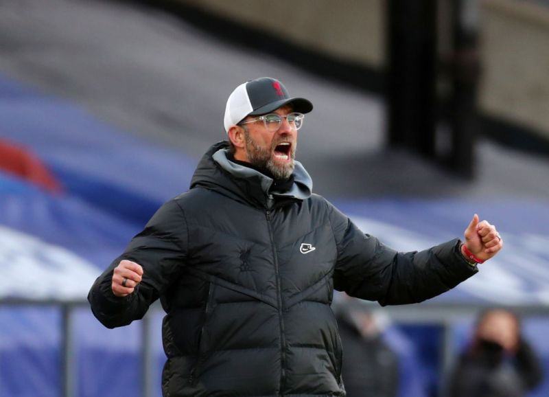 'Angry' Klopp admits tearing into Liverpool players following Southampton defeat