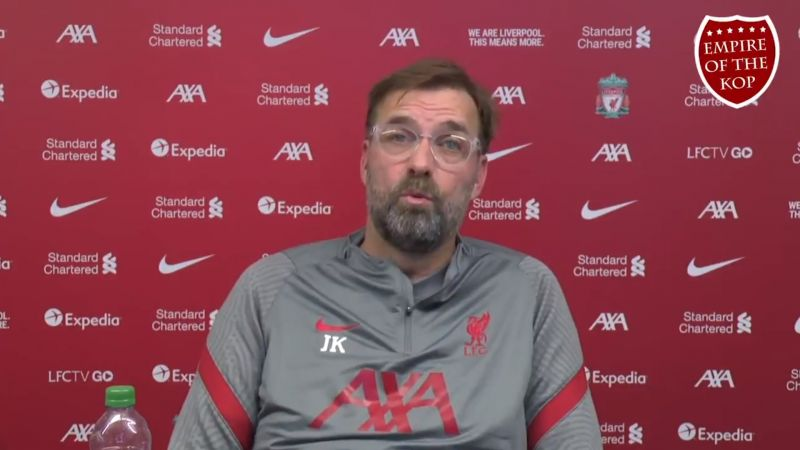 (Video) Klopp promises Liverpool will 'find a moment' to show off PL trophy to fans