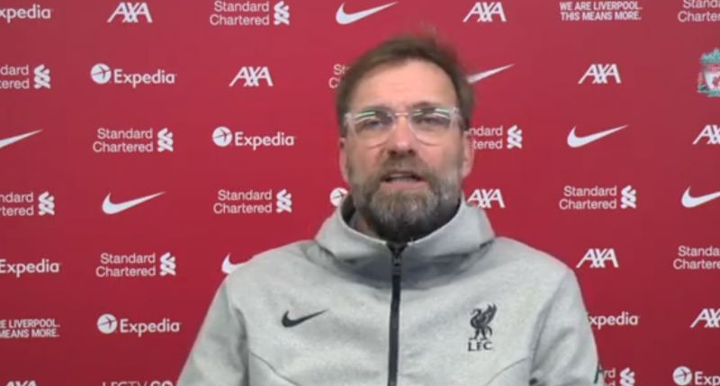 (Video) Klopp offers Liverpool fans hope of close return for Thiago Alcantara