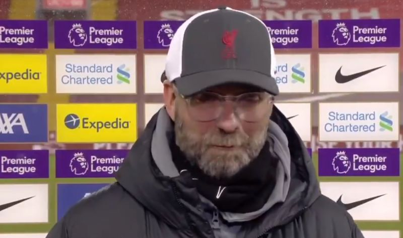 "(Video) ""These are the facts"": Jurgen Klopp provides Virgil van Dijk fitness update"