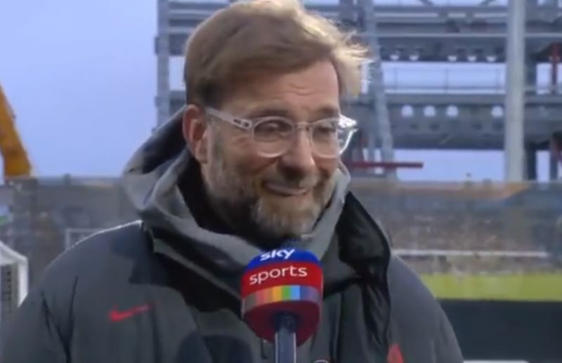 (Video) Klopp with hilarious pre-match moment as he compliments Scott Parker's looks