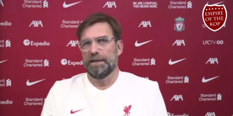 (Video) Jurgen Klopp hints Liverpool midfielder could make injury comeback against Spurs