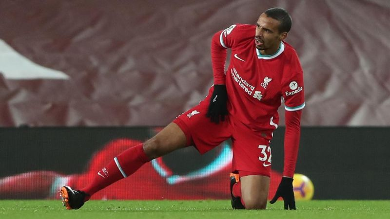 (Image) The rarely spotted Joel Matip is back outside at Kirkby…
