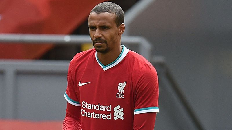 Joel Matip brought off to hand Liverpool second major defensive blow