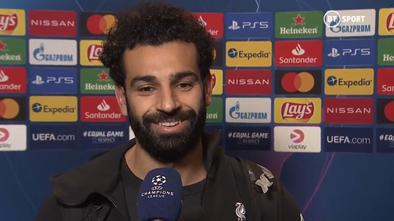 (Video) Salah pride on being LFC's highest-ever UCL top scorer – 'It's a great feeling'