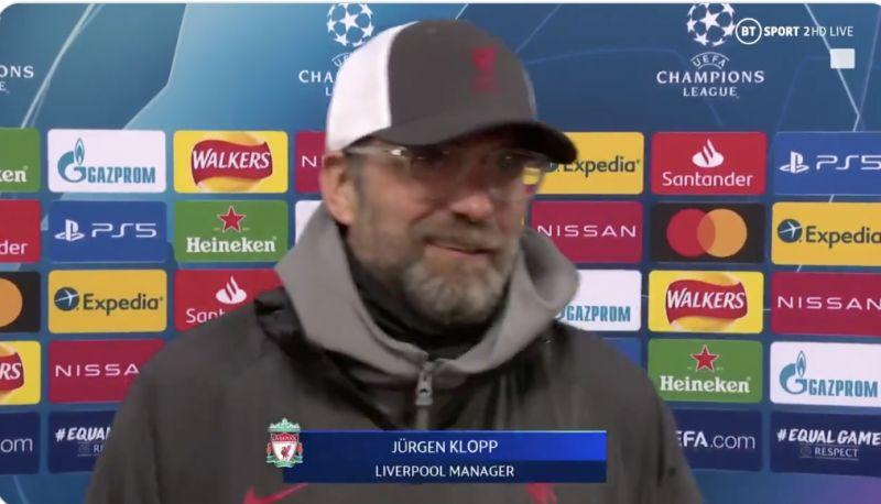 (Video) Jurgen Klopp and Des Kelly make friends again after Saturday's post-Brighton argument