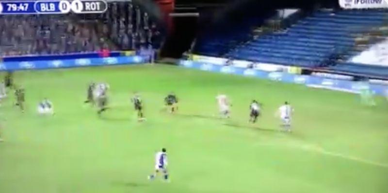 (Video) Harvey Elliott scores again for Blackburn as 17-year-old's season gets better and better