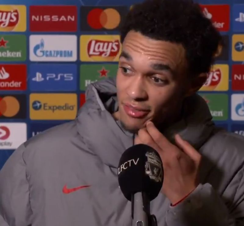 (Video) Trent on 'proud moment' being made Liverpool captain for first time