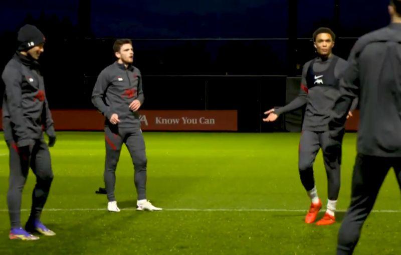 (Video) 'That's not a meg!' Trent raging over training nutmeg claim