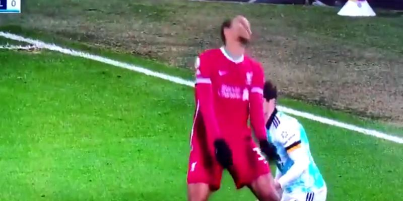 (Video) Joel Matip provides even more Out Of Context gold with dramatic reaction to foul