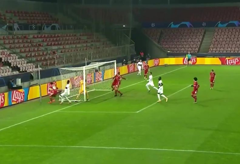 (Video) Fabinho makes another goal-line clearance as midfielder continues to prove he's a world-class defender