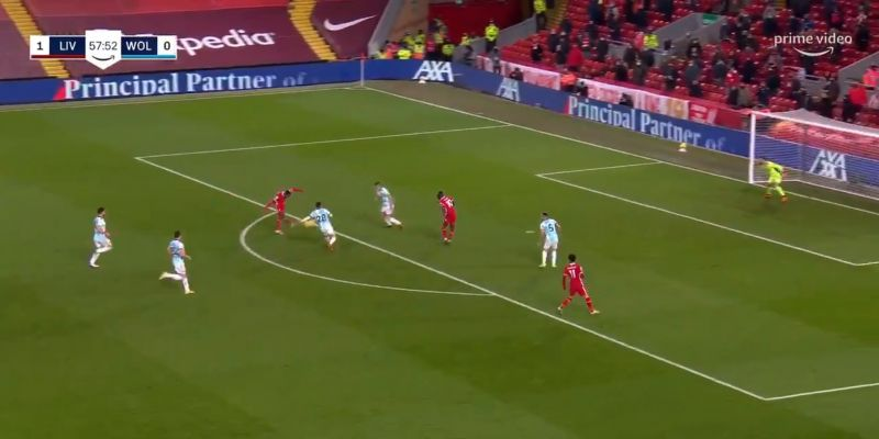 (Video) Wijnaldum slams home inch-perfect shot from range to make it 2-0 to Liverpool
