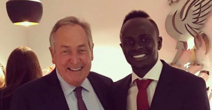(Image) Mane pays tribute to Houllier, who helped kick-start Liverpool superstar's career