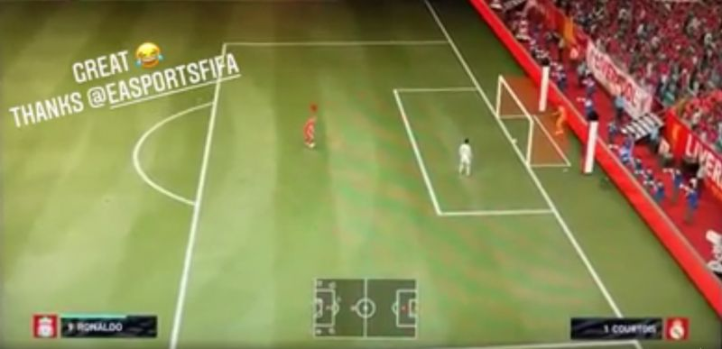 (Video) 'Thanks EA' – LFC's Diogo Jota not happy with bug in FIFA 21