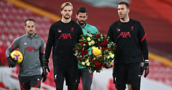 Klopp explains why Kelleher, not Adrian, is now Liverpool's no.2 goalkeeper