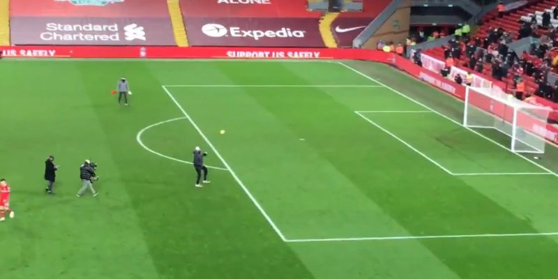 (Video) Jurgen Klopp celebrates with the Kop after big win; drops fist-pumps as fans return to Anfield