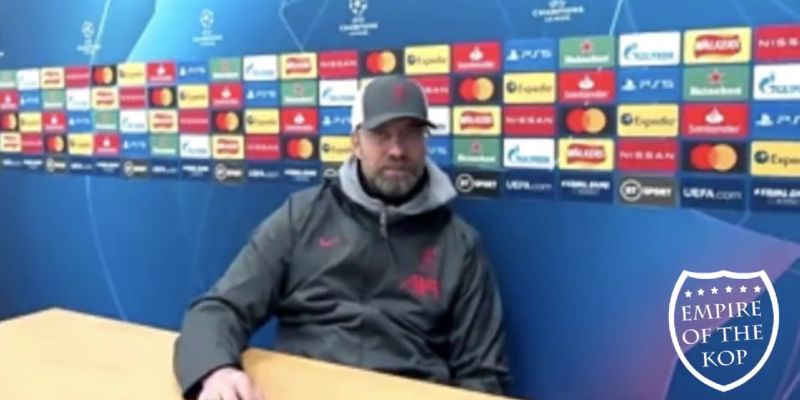 (Video) Jurgen Klopp responds to question about abandoned game after racist discrimination allegation