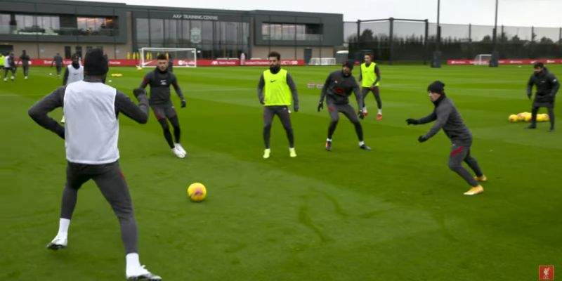 (Video) Thiago, Shaqiri and Milner train with Liverpool squad ahead of West Brom match