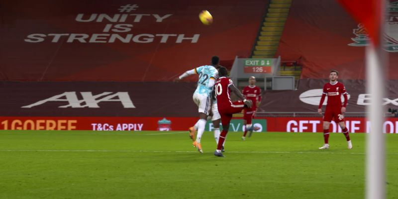 (Video) Mane's glorious first-touch control after long-ball by Kelleher in previously unseen clip