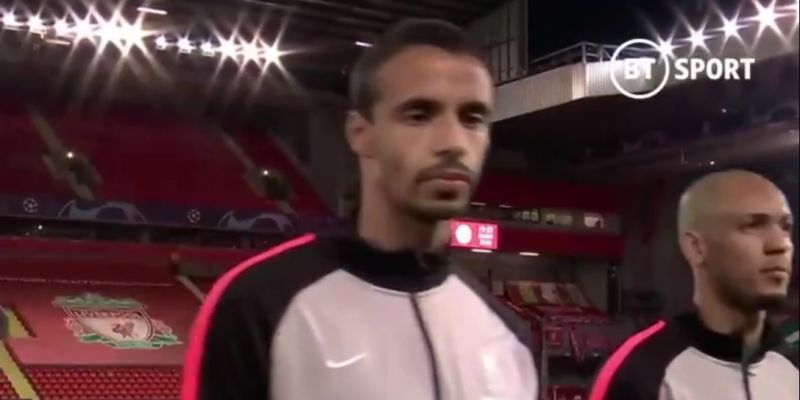 (Video) Joel Matip provides even more Out Of Context gold ahead of kick-off at Anfield